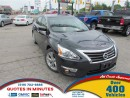 Used 2013 Nissan Altima 2.5 SV | SUNROOF | BACKUP CAM for sale in London, ON