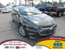 Used 2017 Chevrolet Malibu 1LT | BACKUP CAM | SAT RADIO | BLUETOOTH | WIFI for sale in London, ON