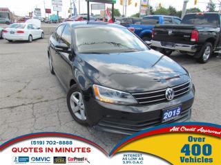 Used 2015 Volkswagen Jetta COMFORTLINE TSI | BACKUP CAM | BLUETOOTH for sale in London, ON