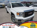 Used 2014 GMC Sierra 1500 4X4 | CREW CAB | 5.3L for sale in London, ON