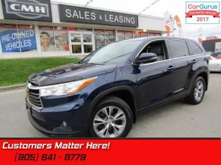 Used 2015 Toyota Highlander LE  Bluetooth, Backup Camera, Remote, Keyless Entry for sale in St Catharines, ON