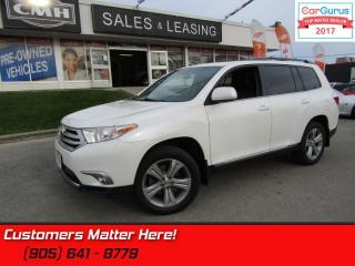 Used 2013 Toyota Highlander Sport  PRISITINE, LEATHER, SUNROOF, 7 PASSENGER for sale in St Catharines, ON
