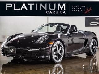 Used 2013 Porsche Boxster MANUAL, SPORT CHRONO for sale in North York, ON