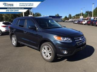 Used 2012 Hyundai Santa Fe Limited with Navigation AWD  - local for sale in Courtenay, BC