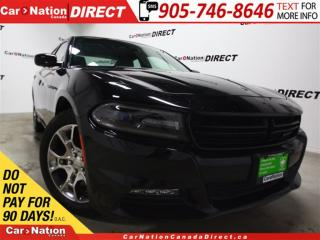 Used 2016 Dodge Charger SXT| AWD| SUNROOF| NAV-READY| TOUCH SCREEN| for sale in Burlington, ON