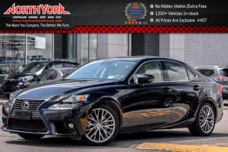 Used 2015 Lexus IS 250 AWD|Sunroof|Leather|BlindSpot|HTD/Vntd Frnt Seats|Backup Cam|18