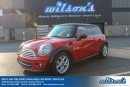 Used 2012 MINI Cooper Hardtop COUPE! LEATHER! PANORAMIC SUNROOF! HEATED SEATS! POWER PACKAGE! KEYLESS ENTRY! for sale in Guelph, ON