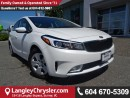 Used 2017 Kia Forte LX W/SAFETY REAR CAMERA & HEATED SEATS for sale in Surrey, BC