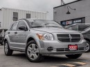 Used 2007 Dodge Caliber SXT for sale in Oakville, ON