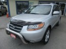 Used 2008 Hyundai Santa Fe LOADED LIMITED EDITION 5 PASSENGER 3.3L - V6.. AWD.. LEATHER.. HEATED SEATS.. POWER SUNROOF.. for sale in Bradford, ON