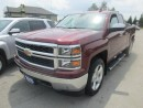 Used 2015 Chevrolet Silverado 1500 WORK READY LT MODEL 6 PASSENGER 5.3L - V8.. 4X4.. QUAD-CAB.. SHORTY.. CD/AUX/USB INPUT.. FACTORY WARRANTY.. for sale in Bradford, ON