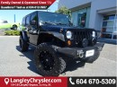 Used 2012 Jeep Wrangler Unlimited Rubicon CUSTOM LIFT, RIMS & STEEL BUMPERS for sale in Surrey, BC