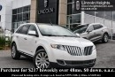 Used 2011 Lincoln MKX AWD - LEATHER - BLUETOOTH - NAV - MOONROOF for sale in Ottawa, ON