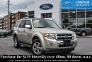 Used 2011 Ford Escape LTD 4WD - LEATHER - BLUETOOTH - PWR MOONROOF - HEATED FRONT SEATS - REVERSE SENSING for sale in Ottawa, ON