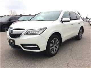 Used 2015 Acura MDX Navigation Package Rear CAM Sunroof for sale in Concord, ON