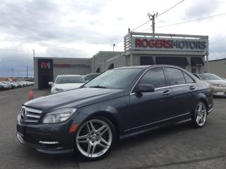 Used 2011 Mercedes-Benz C350 4MATIC - NAVI - PANORAMIC ROOF for sale in Oakville, ON