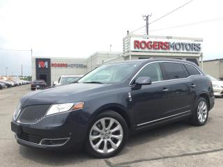 Used 2014 Lincoln MKT AWD - DUAL DVD - NAVI - SELF PARKING for sale in Oakville, ON
