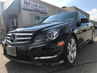 Used 2012 Mercedes-Benz C 300 LANE ASSIST/BLIND SPOT/NAVIGATION/PANORAMIC ROOF for sale in Concord, ON