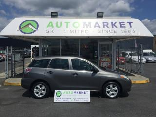 Used 2006 Toyota Matrix XR 2WD AUTOMATIC WARRANTY! for sale in Langley, BC