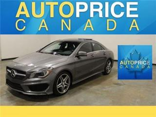 Used 2014 Mercedes-Benz CLA-Class AMG WHEELS NAVI PANOROOF AWD for sale in Mississauga, ON