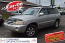 Used 2003 Toyota Highlander V6 4WD PWR GRP LEATHER ALLOYS for sale in Ottawa, ON