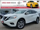 Used 2016 Nissan Murano SV FWD w/NAV,panoramic roof,heated seats,climate control,rear cam for sale in Cambridge, ON