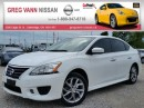 Used 2014 Nissan Sentra SR w/NAV,heated seats,rear cam,pwr moonroof,alloys,push button start for sale in Cambridge, ON