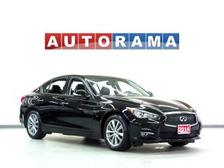Used 2014 Infiniti Q50 NAVIGATION AWD BACKUP CAM LEATHER SUNROOF for sale in North York, ON