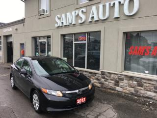 Used 2012 Honda Civic LX REDUCED for sale in Hamilton, ON