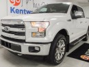 Used 2015 Ford F-150 Lariat 3.5L V6 Ecoboost. NAV. sunroof. all heated leather seats. push start. for sale in Edmonton, AB