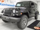 Used 2014 Jeep Wrangler Unlimited Rubicon- trail rated unlimited manual with heated seats and nav! for sale in Edmonton, AB