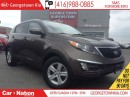 Used 2015 Kia Sportage LX | ONE OWNER | ONLY 27,820KMS | BLUE TOOTH | for sale in Georgetown, ON