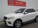Used 2012 Mercedes-Benz ML-Class ML350, DIESEL, AWD, LEATHER for sale in Edmonton, AB