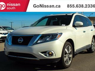 Used 2015 Nissan Pathfinder NAVIGATION, DVD HEADRESTS, HEATED AND COOLED SEATS for sale in Edmonton, AB