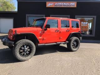 Used 2015 Jeep Wrangler Sahara Super Charged for sale in Estevan, SK