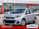 Used 2015 Nissan Micra SV*Accident Free*Economical for sale in Ajax, ON