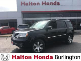 Used 2015 Honda Pilot TOURING/ LEATHER HEATED SEATS/ NAVIGATION for sale in Burlington, ON