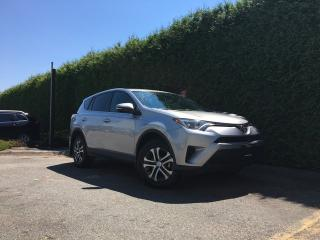 Used 2016 Toyota RAV4 LE AWD + BLUETOOTH + A/C + CRUISE CONTROL + NO EXTRA DEALER FEES for sale in Surrey, BC