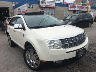 Used 2008 Lincoln MKX w/NAVI_PANORAMIC SUNROOF for sale in Oakville, ON
