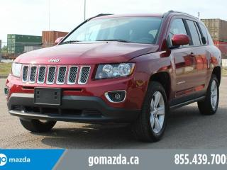 Used 2016 Jeep Compass HIGH ALTITUDE 4X4 HEATED SEATS LEATHER SUNROOF LOW KM's for sale in Edmonton, AB