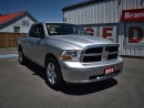 Used 2012 Dodge Ram 1500 SLT 4x4 Quad Cab 140 in. WB for sale in Brantford, ON