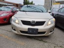 Used 2009 Toyota Corolla LE Sunroof Alloy ACCIDENT FREE for sale in Brampton, ON