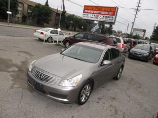 Used 2007 Infiniti G35X Luxury,PUSH BUTTON START for sale in Scarborough, ON