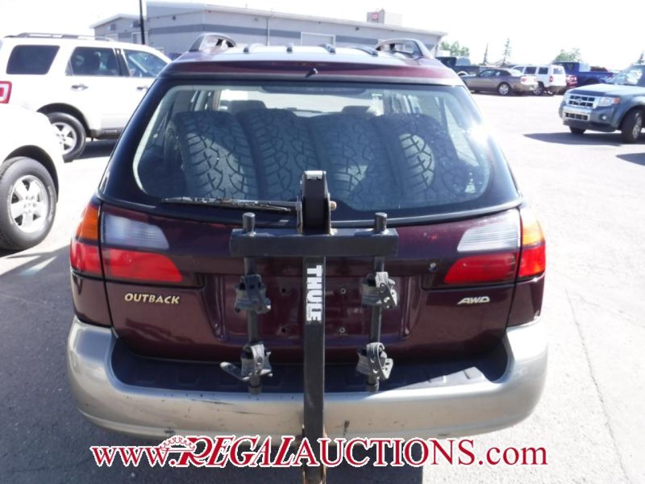 2000 Subaru OUTBACK GT 4D WAGON AWD