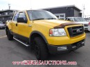 Used 2004 Ford F150 FX4 EXT CAB 4WD 5.4L for sale in Calgary, AB