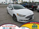 Used 2017 Ford Fusion SE | SUNROOF | BACKUP CAM | LEATHER for sale in London, ON