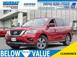 Used 2017 Nissan Pathfinder SV**ALLOYWHEEL**HEATED SEATS** for sale in Surrey, BC