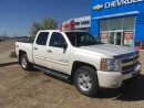 Used 2011 Chevrolet SILVERADO SHORT BOX CREW CAB 1 LT 5.3L 4X4 for sale in Shaunavon, SK