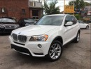 Used 2014 BMW X3 Camera, AllPowerOpti*PushStart, BMWWarranty* for sale in York, ON