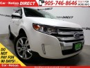 Used 2014 Ford Edge SEL| LOW KM'S| LEATHER| DUAL SUNROOF| NAVI| for sale in Burlington, ON